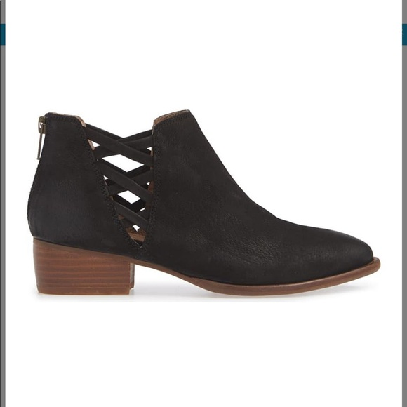 Seychelles Black cut out Booties